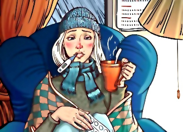 Смешные картинки простуды