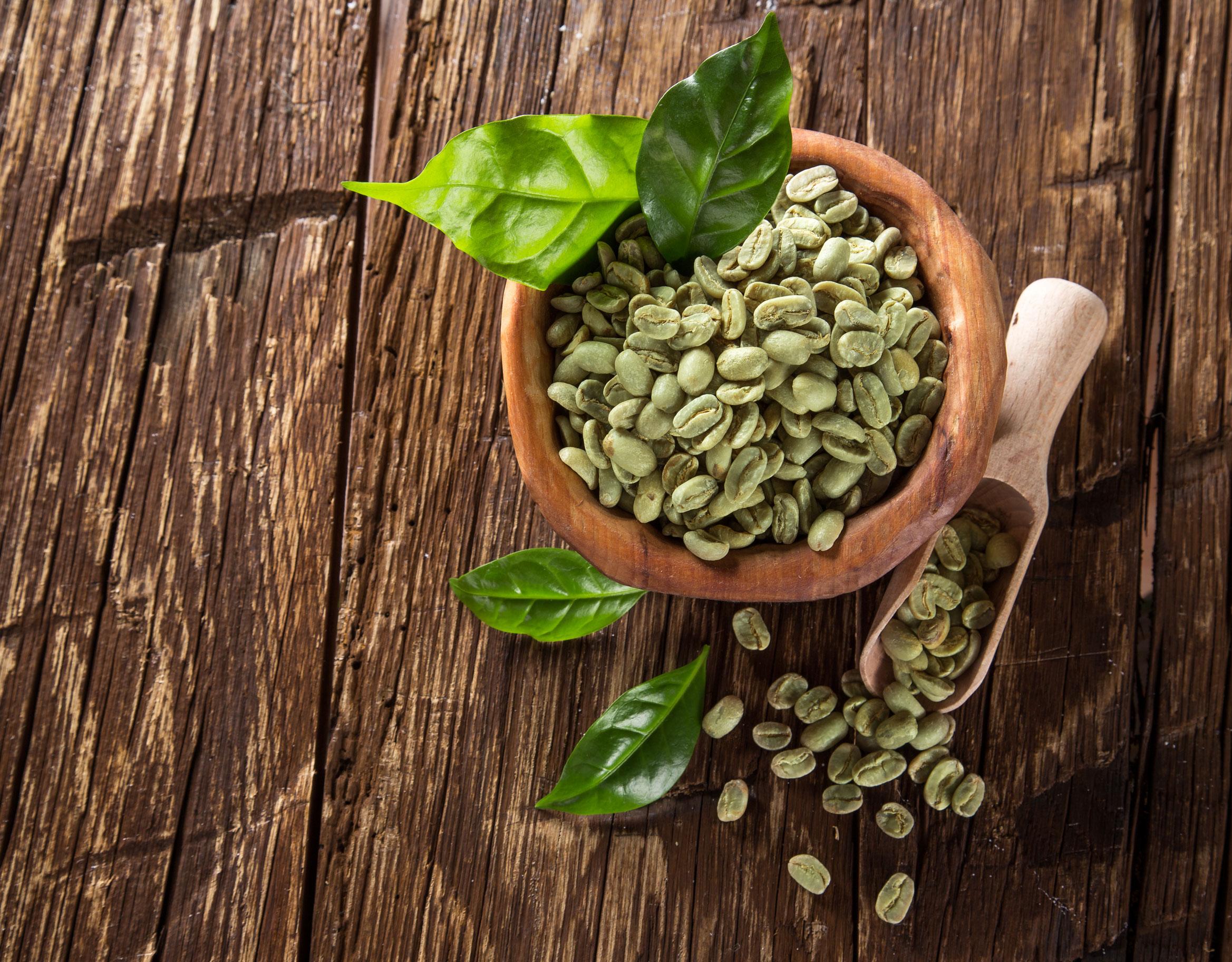 Кофе зеленый в картинках