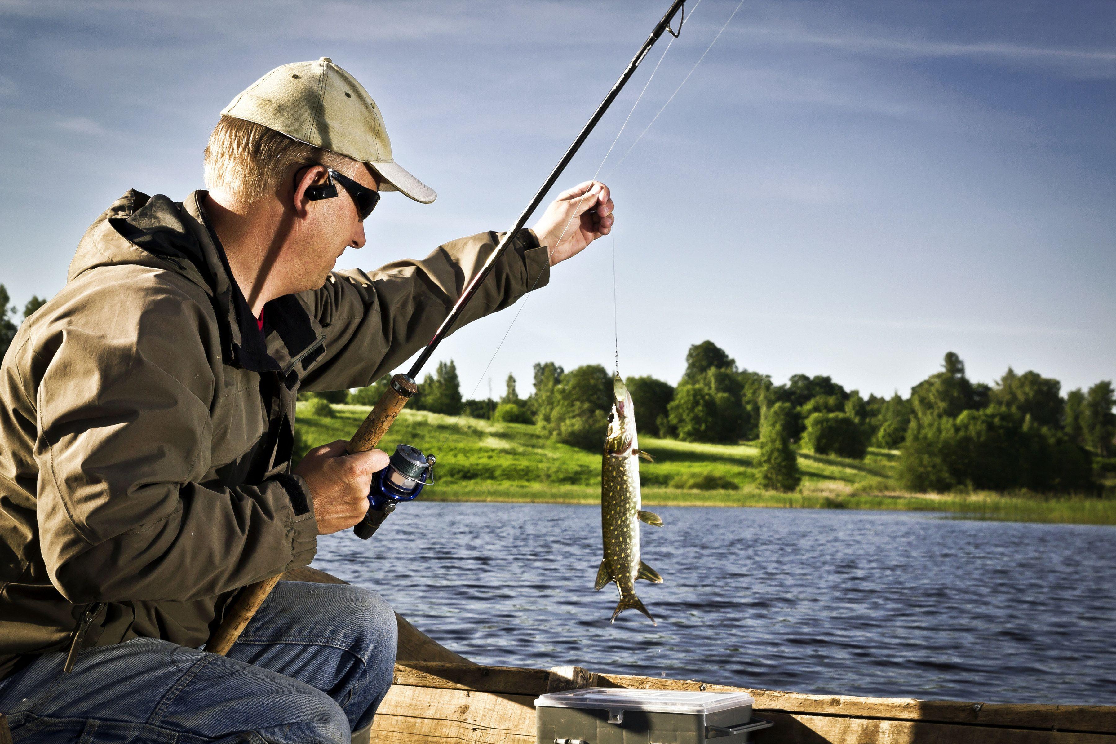 Лучшие озера для рыбалки