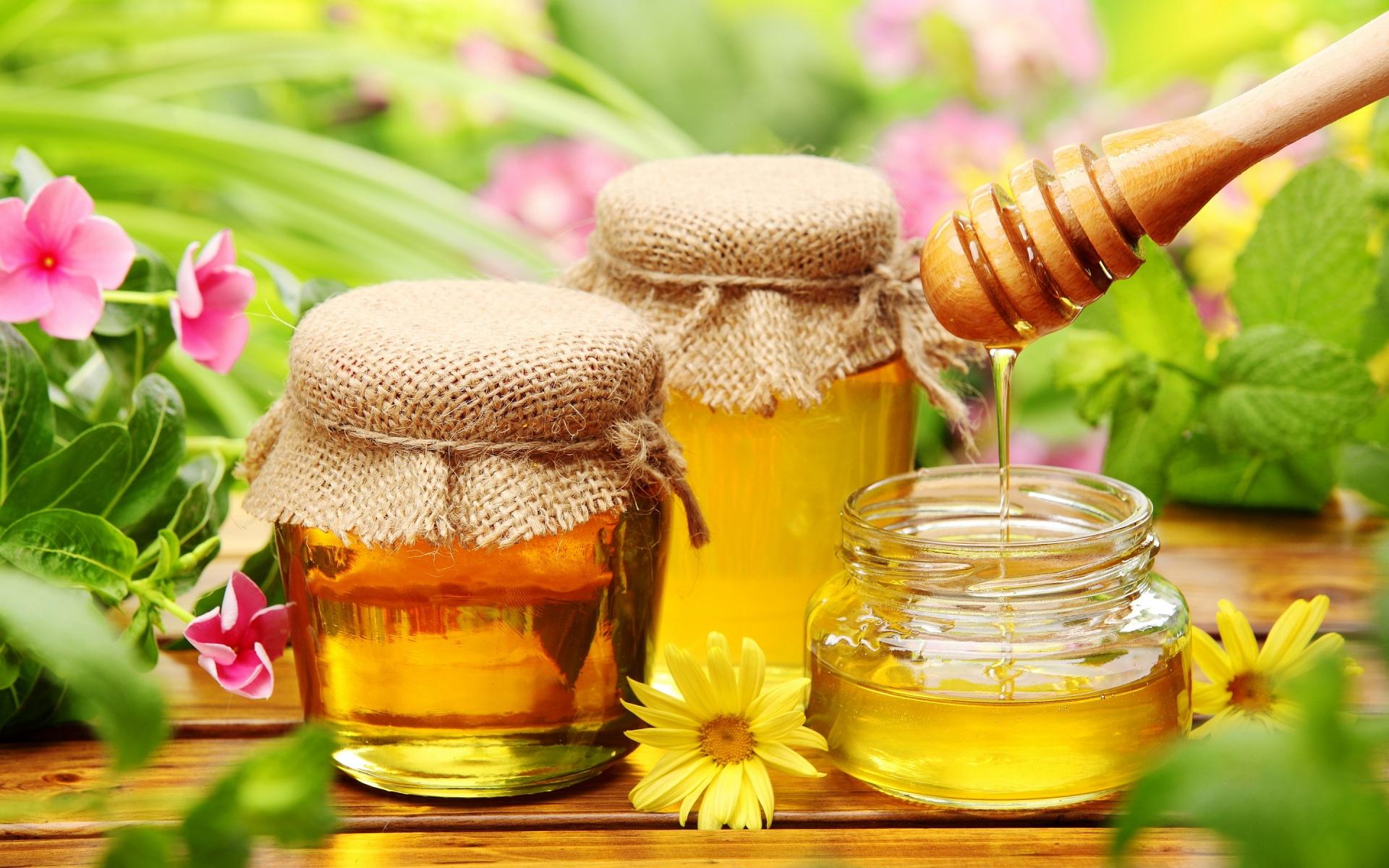 Красивая картинка с медом