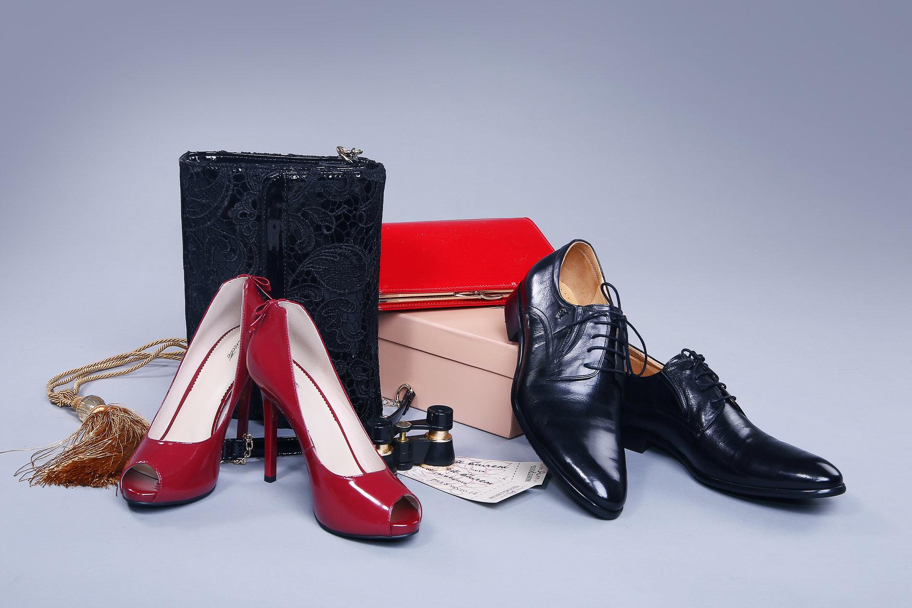 Картинка обуви женской и мужской