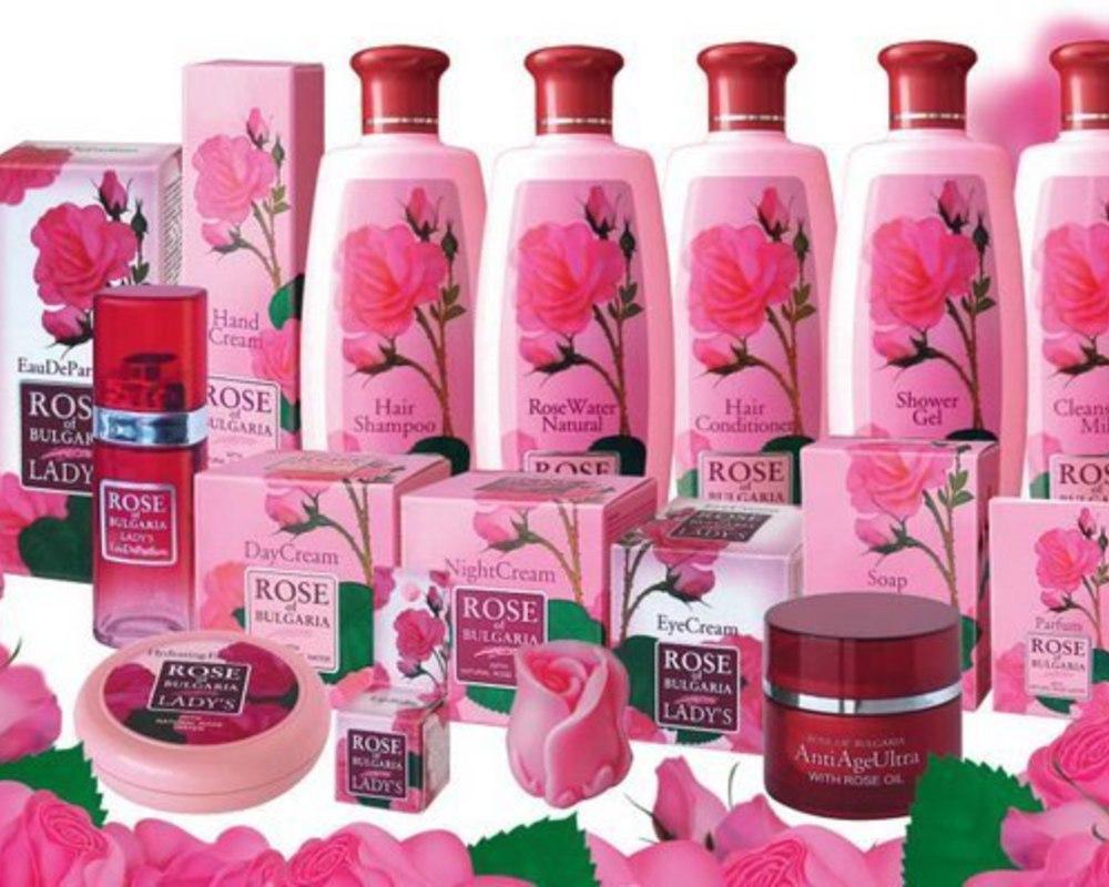 розовая косметика из болгарии купить