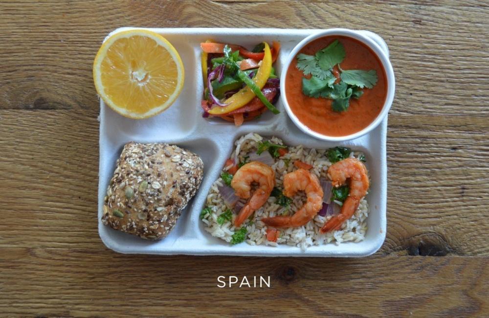 обеды в разных странах мира фото