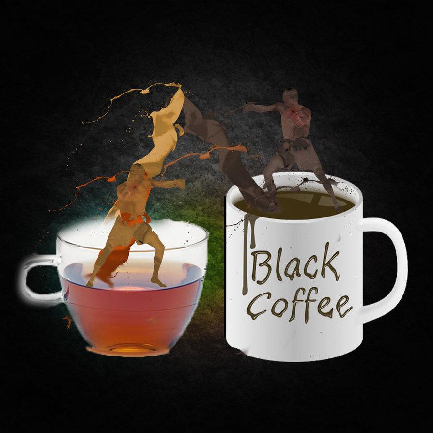 Поздравление годом, прикольные картинки чай кофе