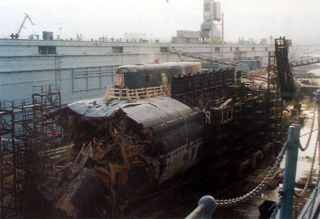 государственные подводная лодка курск фото после поднятия после носки