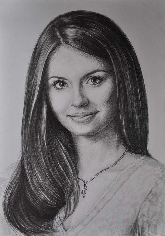 общем как правильно срисовывать с фотографии портрет никогда