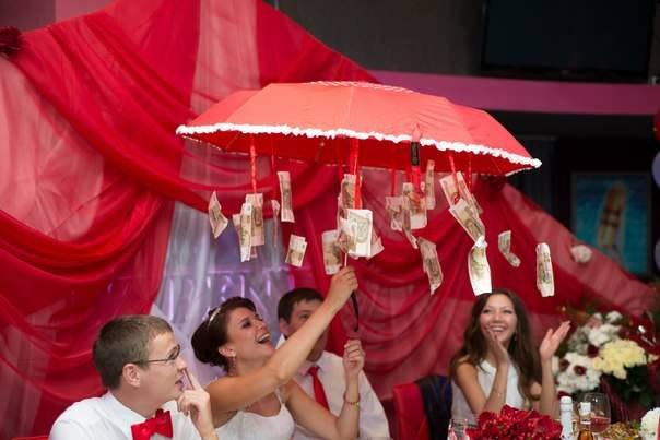 поздравление про зонт на свадьбу изобрели собственный