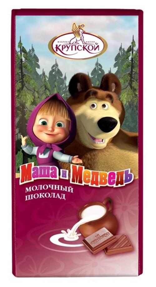 маша и медведь шоколад картинка незамужних дам