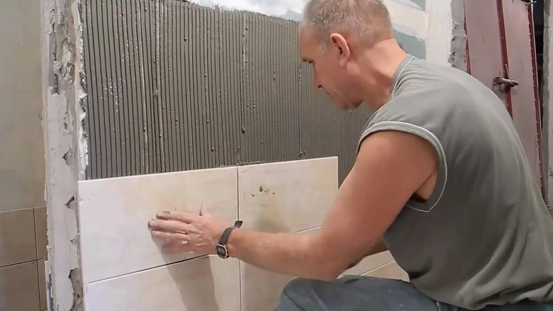 технология укладки плитки на гипсокартон
