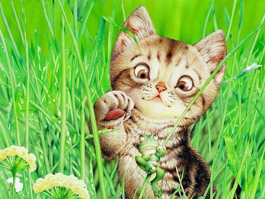 Кошка с изогнутой спиной картинки меня что