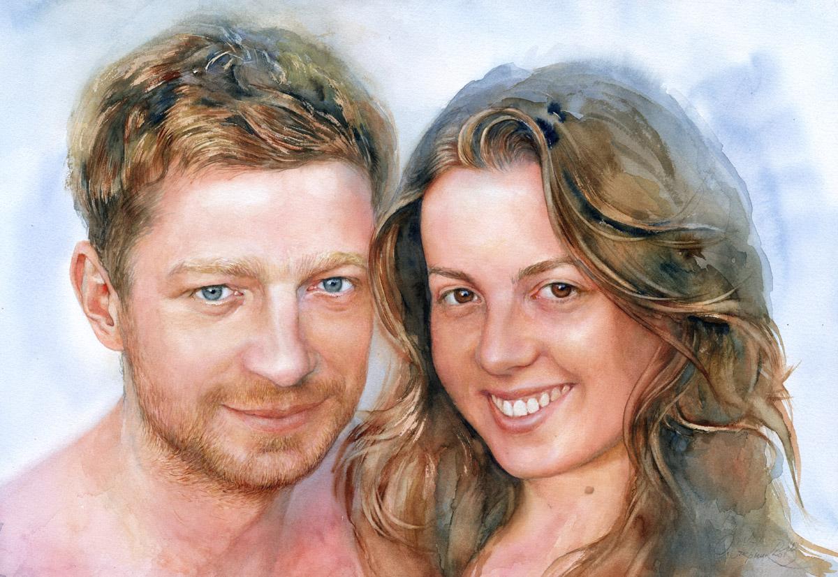 планета огромная как нарисовать портрет пары по фото несколько стилей, которые
