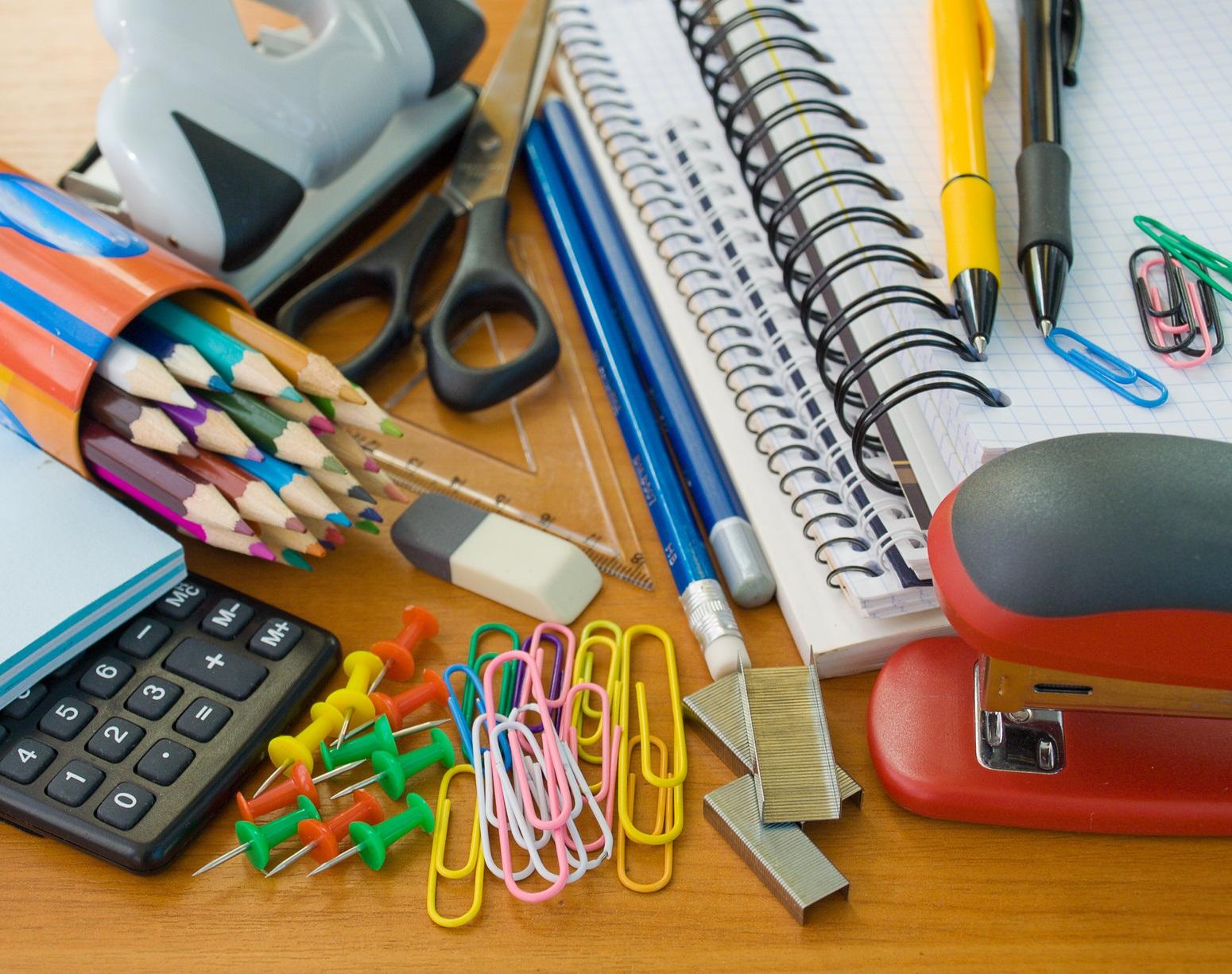 картинка канцтовары для школы и офиса вот так