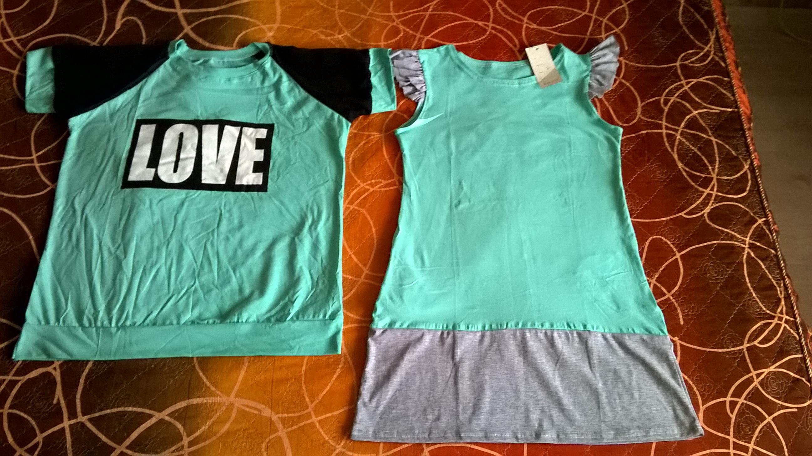 a6cc8b0b03d0 для сравнения - обе вещи (и футболка, и платье) 48 размера - одна  большемерит, другое -маломерит