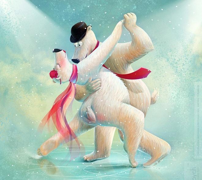Поздравление танцоров с новым годом