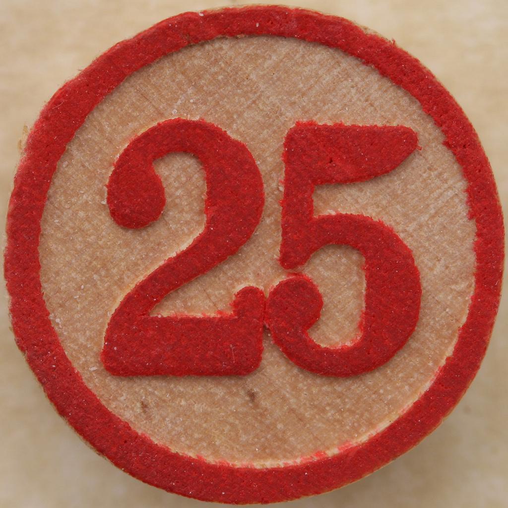 Картинки с числом 25, днем