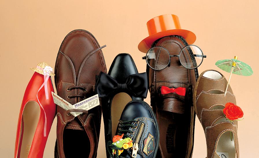 Картинка с обувью для всей семьи
