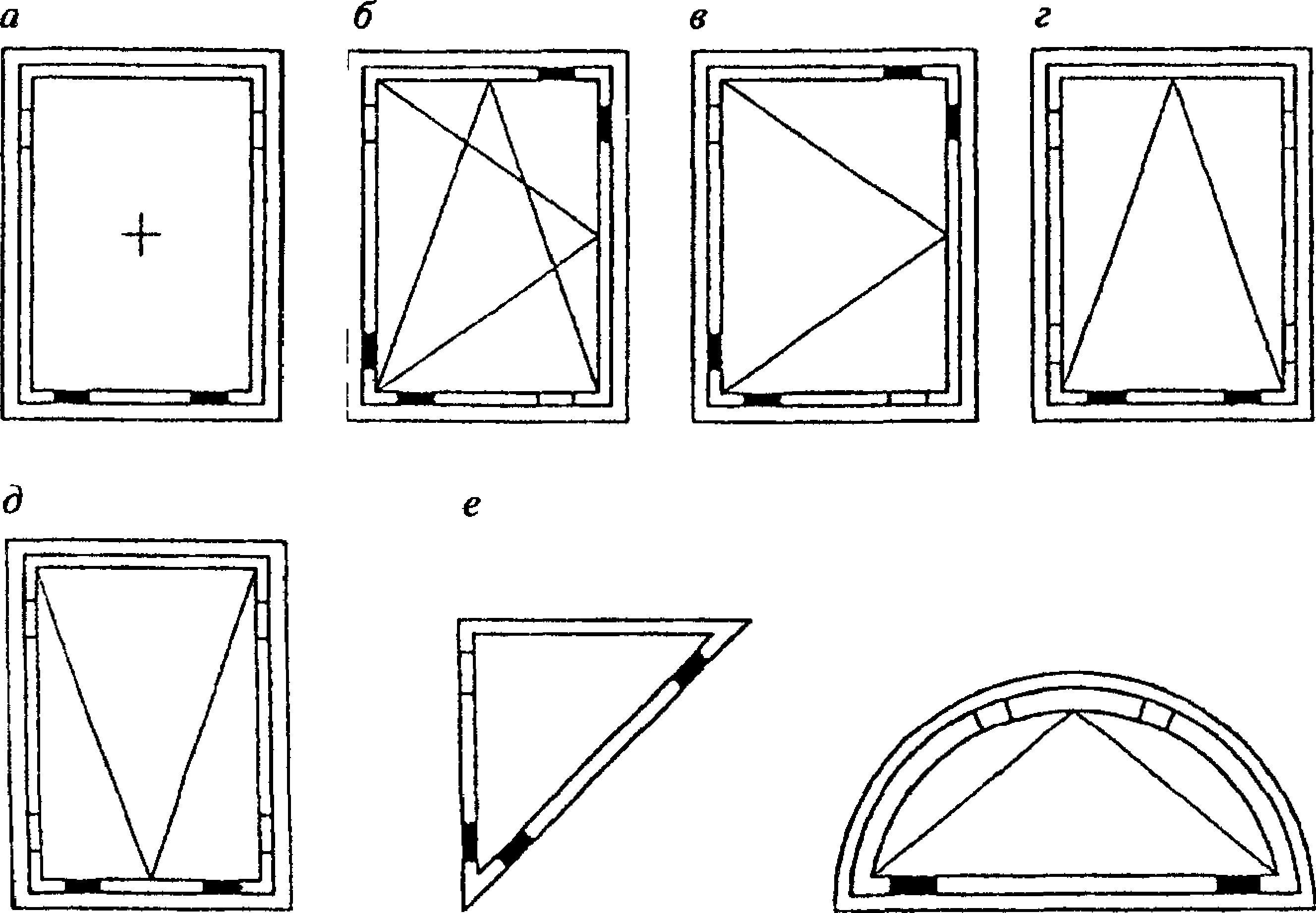Картинки с размерами окон