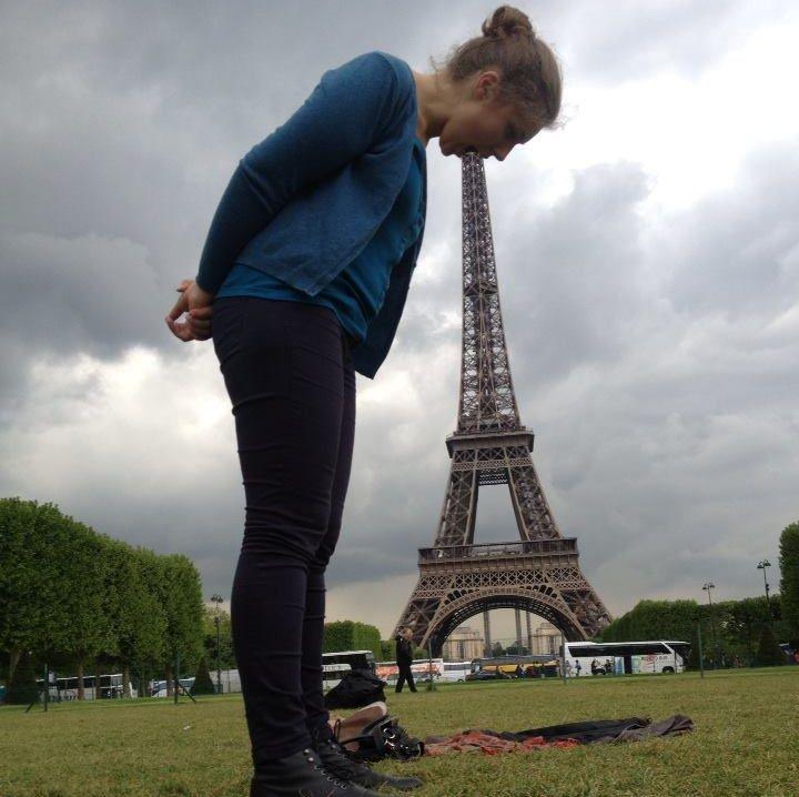 Смешные фото с эйфелевой башней