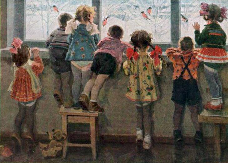 Детский сад открытки ссср, руками