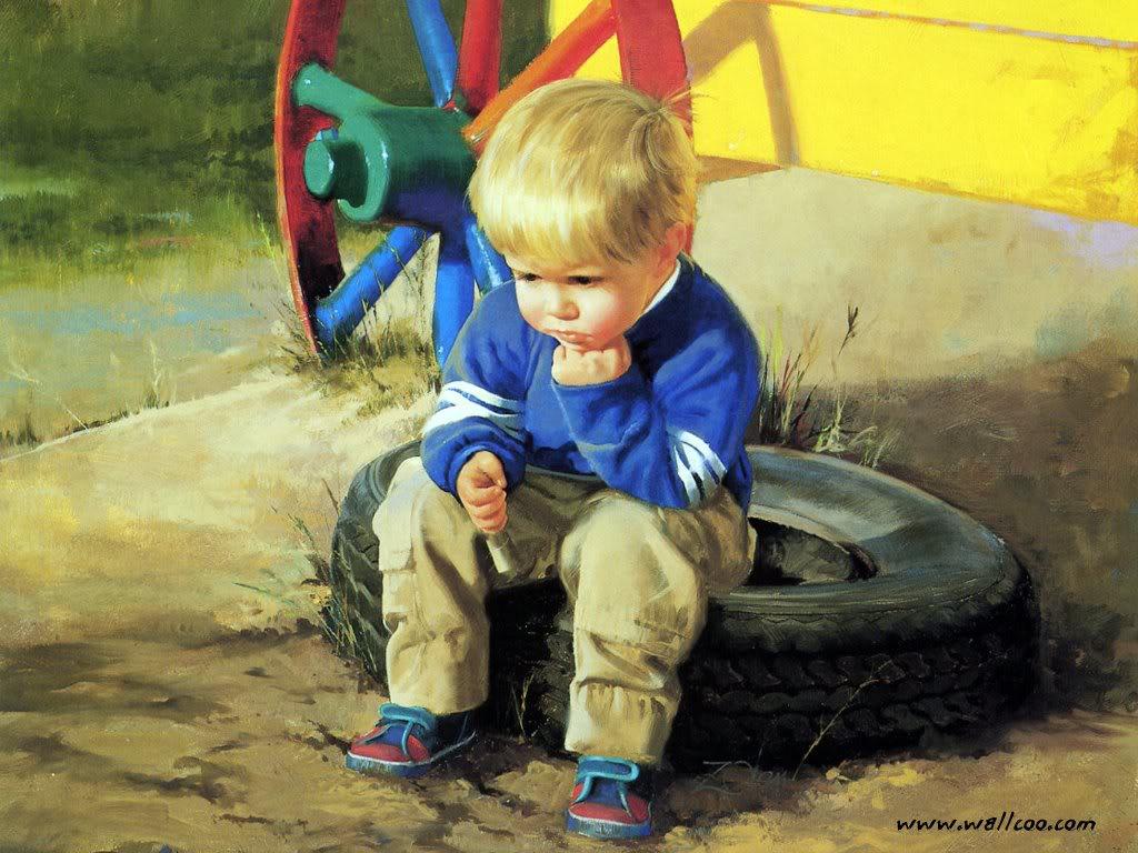 Картинки о жизни мальчика до его прихода