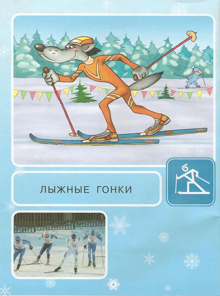 с названиями зимние виды спорта в картинках для этом случае