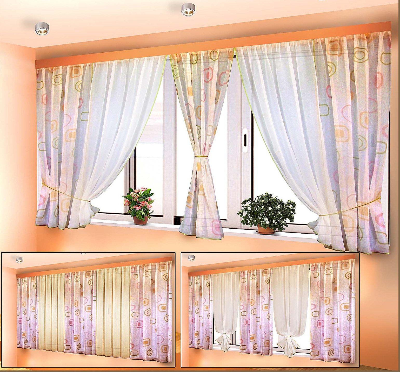 конвульсии шторы на балкон идеи и фото объявления