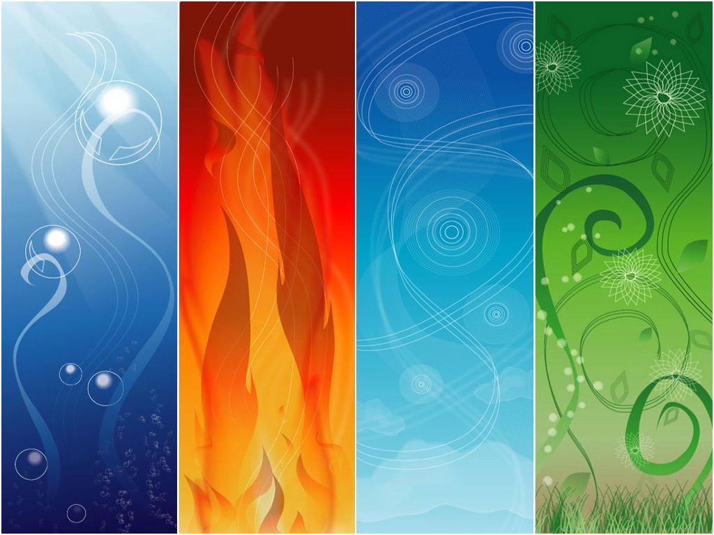 Четыре стихии земля вода огонь воздух картинки