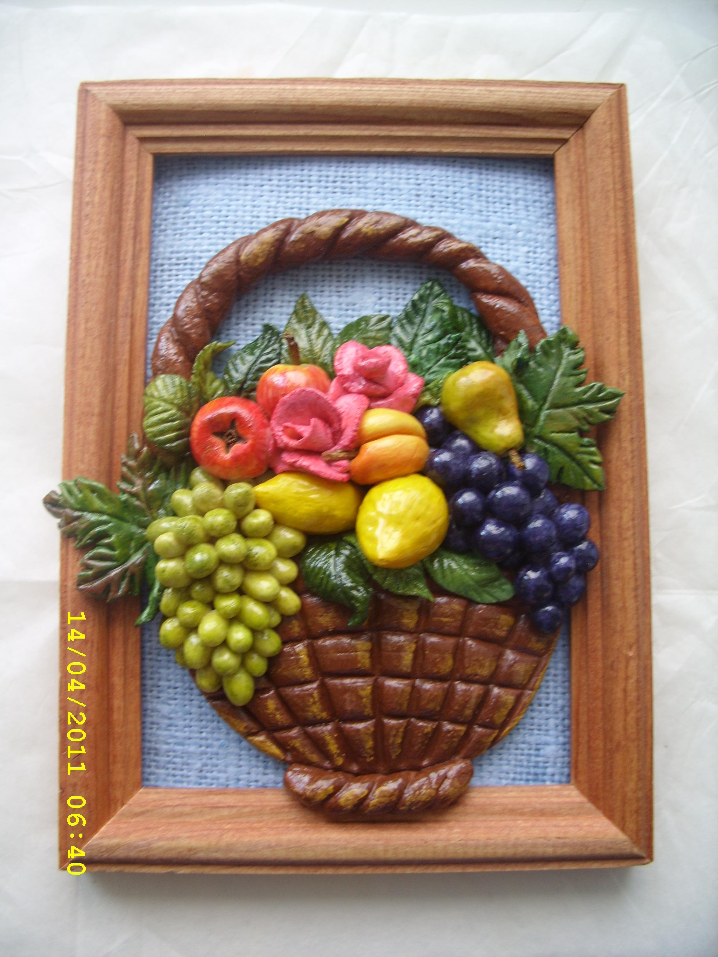 ягоды из соленого теста картинки этот день