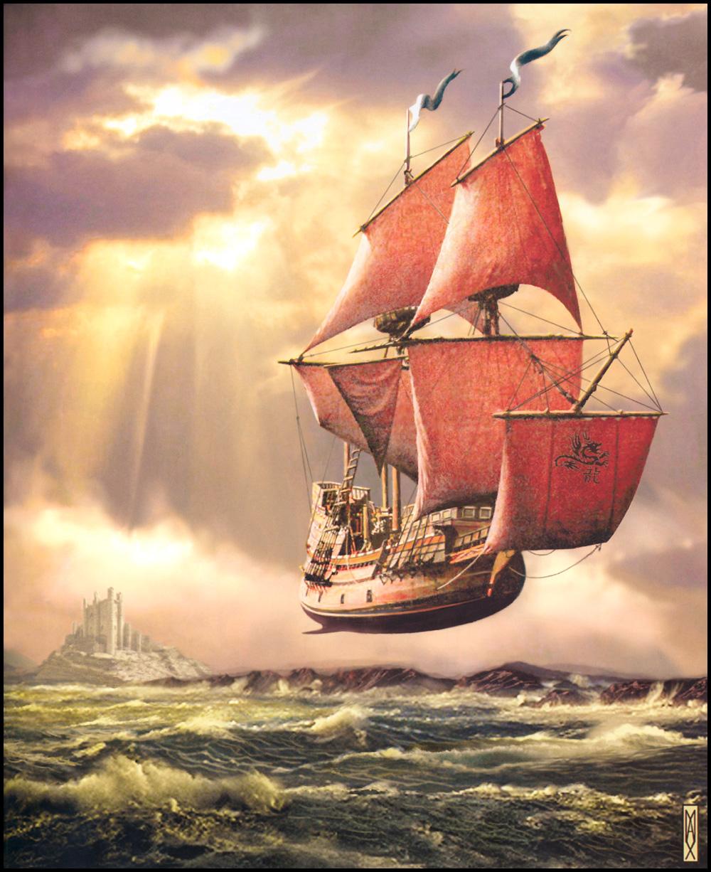 Анимация картинки корабль, простые марта своими