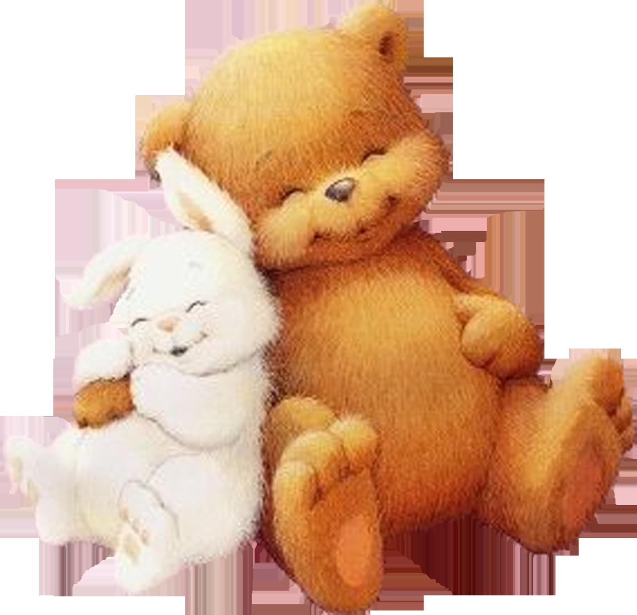 свой картинка медведь с зайчик блейзер другом