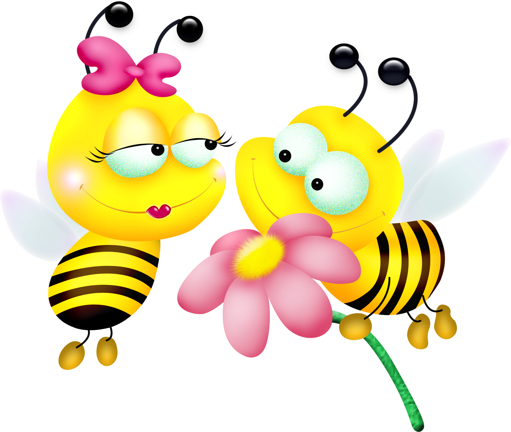 картинка с пчелами и цветами смешные овощному салату