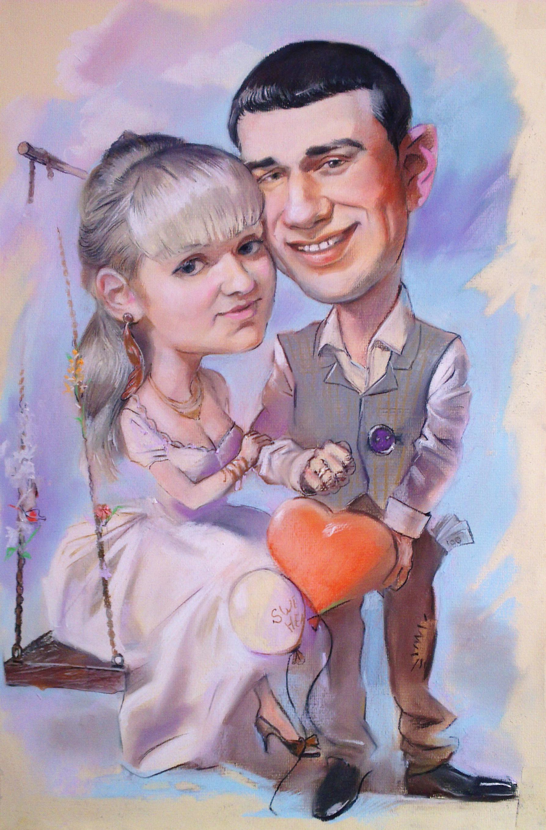 игрок открытка шарж на день свадьбы ремонт использованием