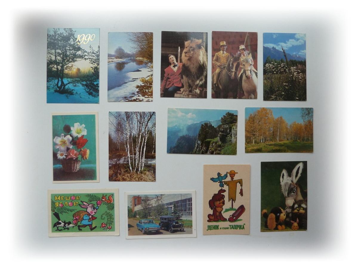 Где продать календарики и открытки, бумаги