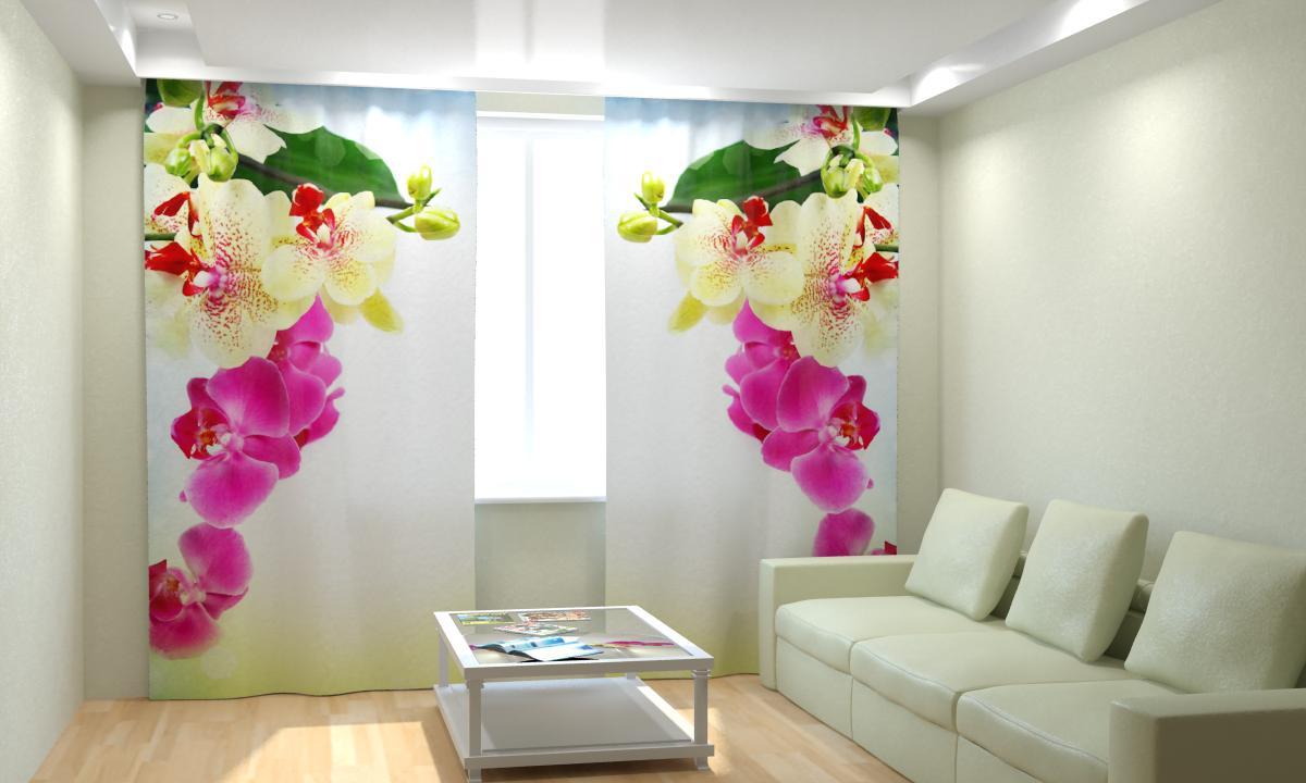 смотря фотопечать цветы на шторах каталог как можно реже