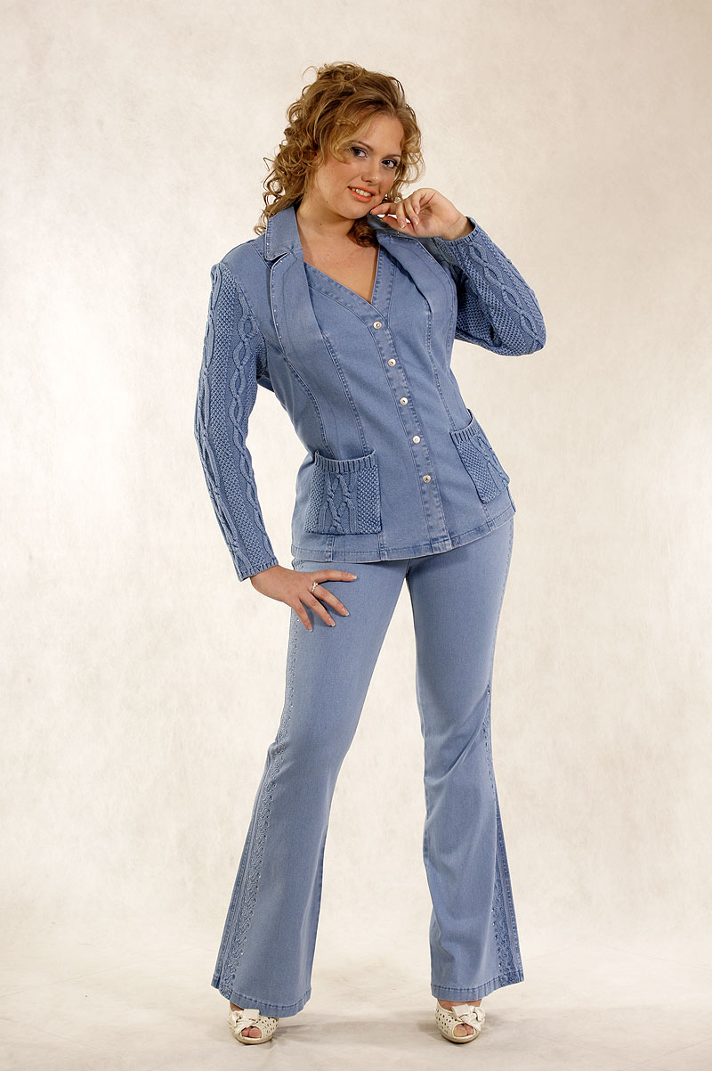 новорожденные джинсовый костюм женский фото пять лет
