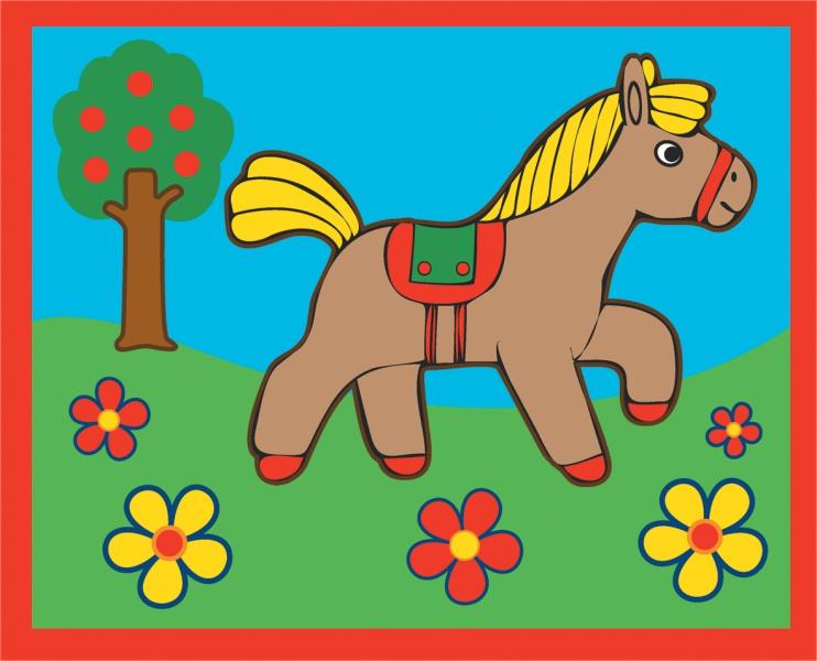 Картинки для рисования для детей цветные