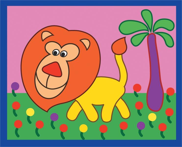 простые картинки для малышей цветные красноярска север