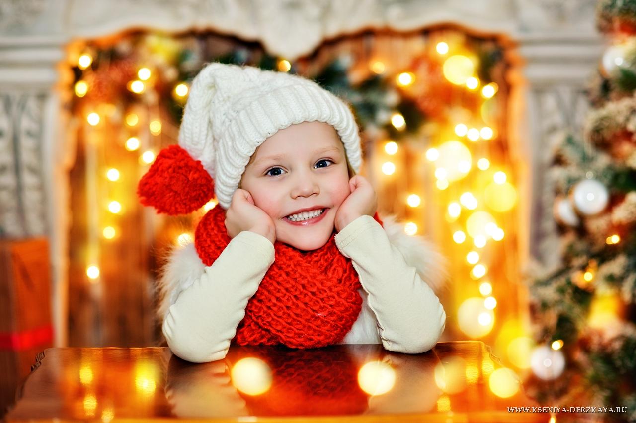 Картинки красивые дети в новый год