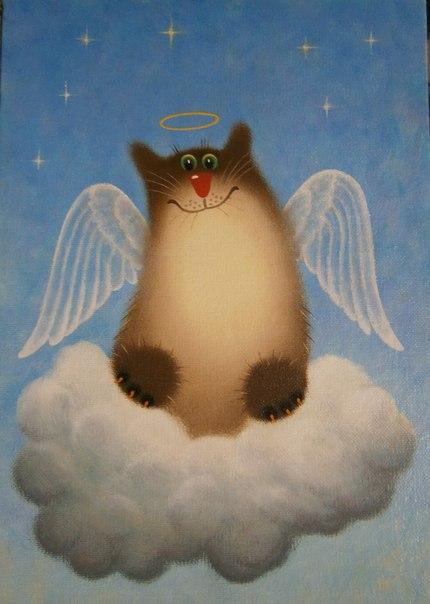 можно открытки с котами от александра для дачи