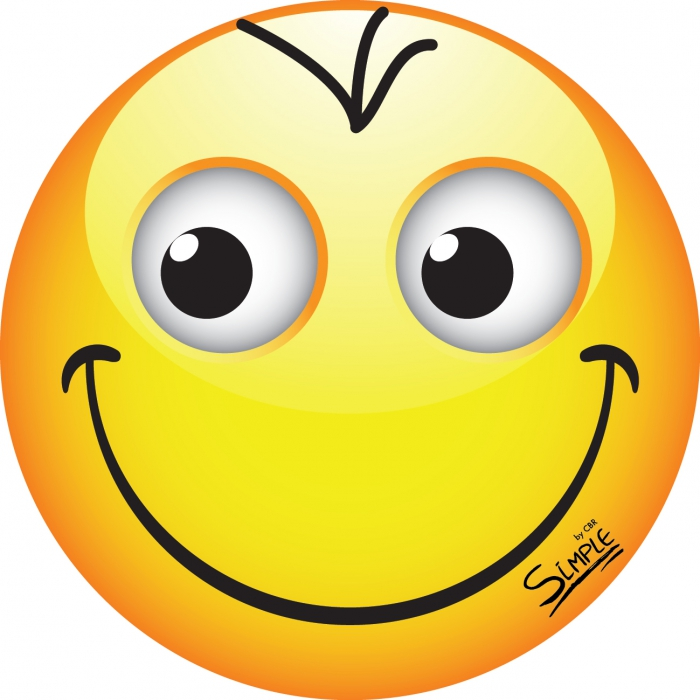 Картинка смайлик хорошее настроение для детей
