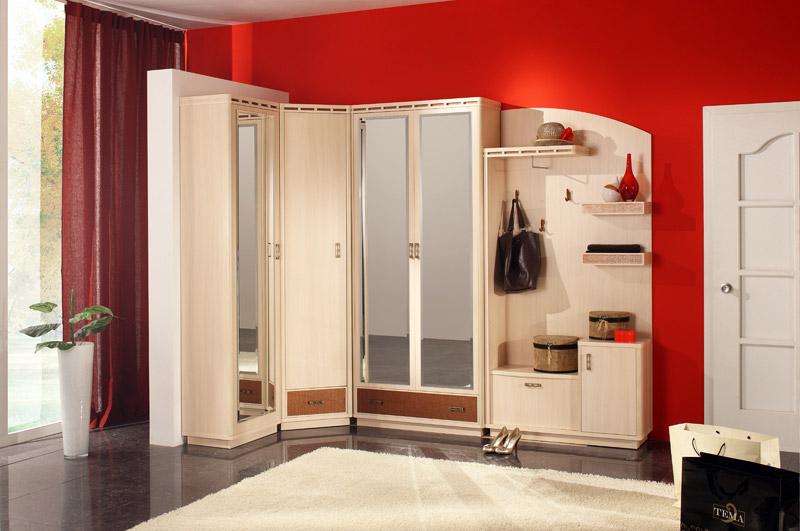 Шкафы купе угловые в коридор каталог фото