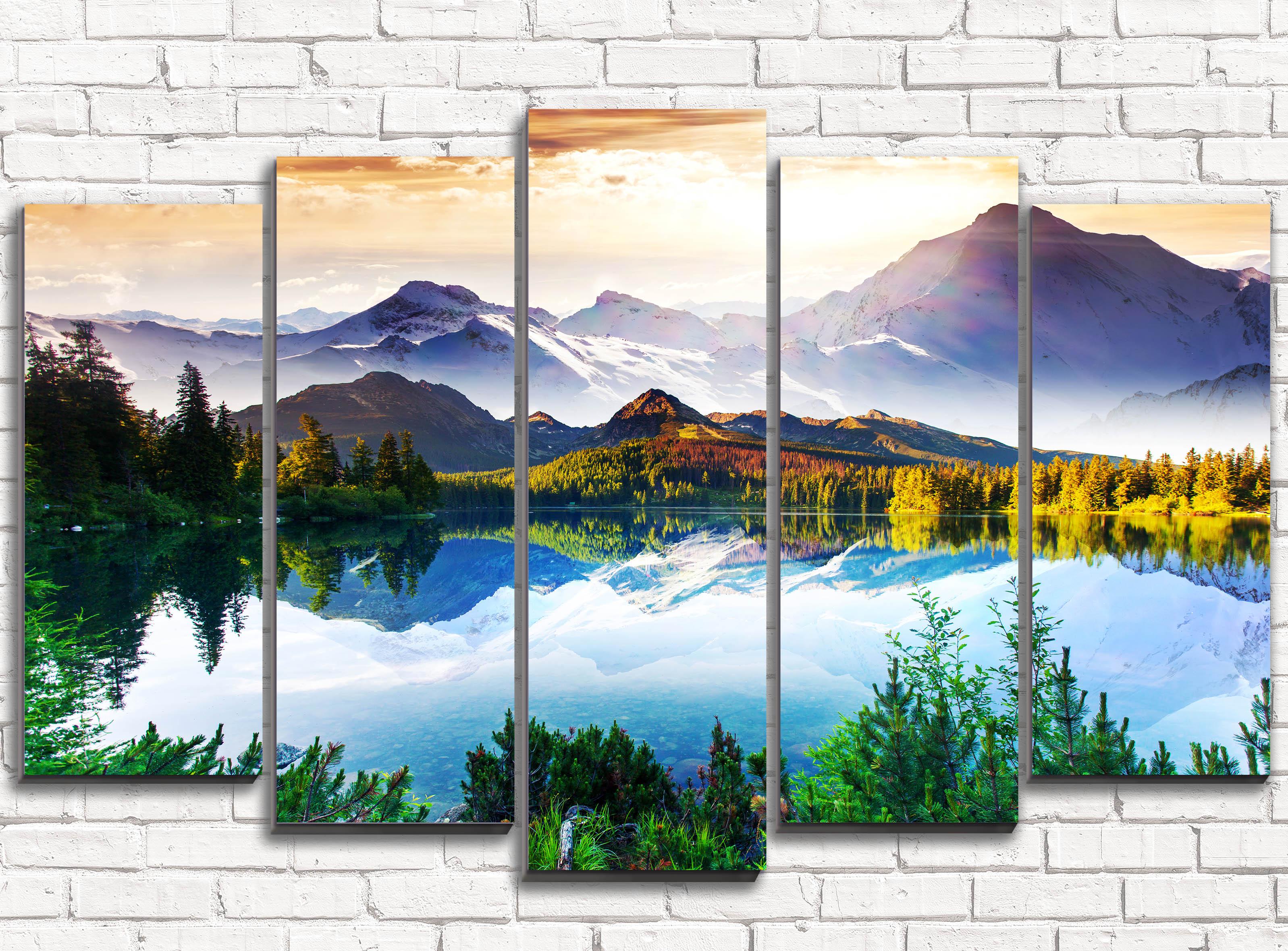 Стеклянные постеры для стен