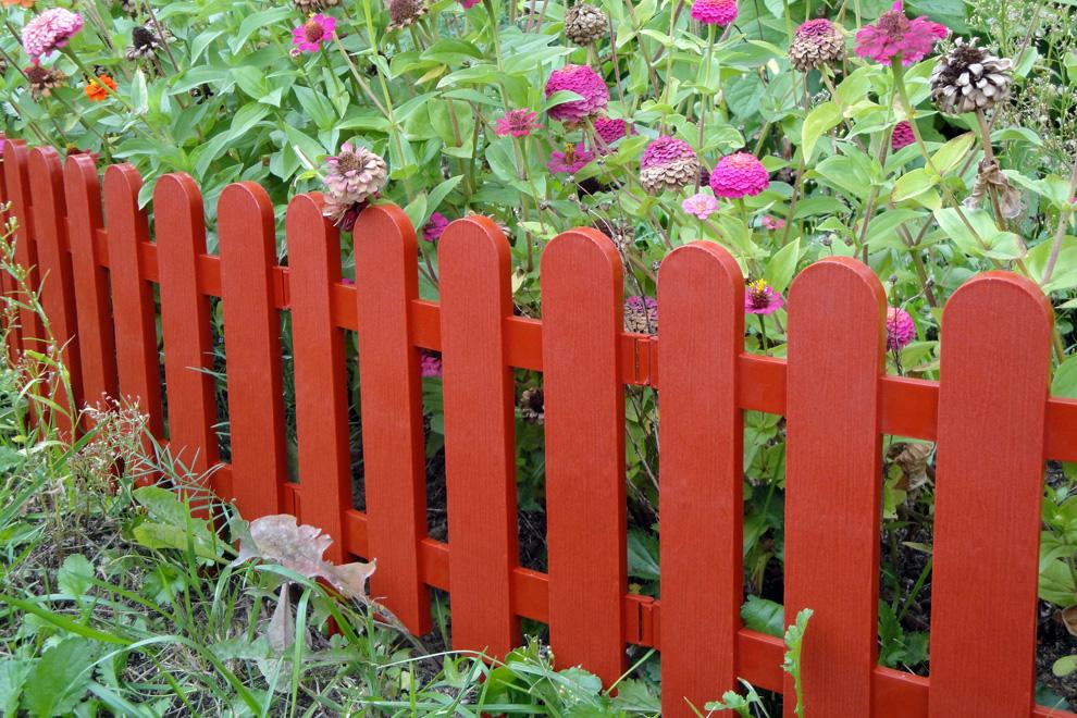 Декоративный забор своими руками фото для клумб