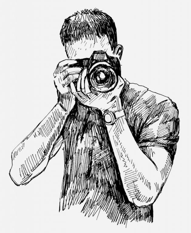 Картинки нарисованные фотограф, сумирэ