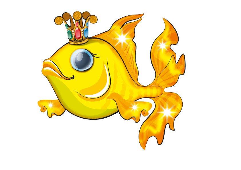 Картинки из сказок для детей золотая рыбка